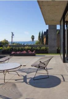 beton poli terrasse