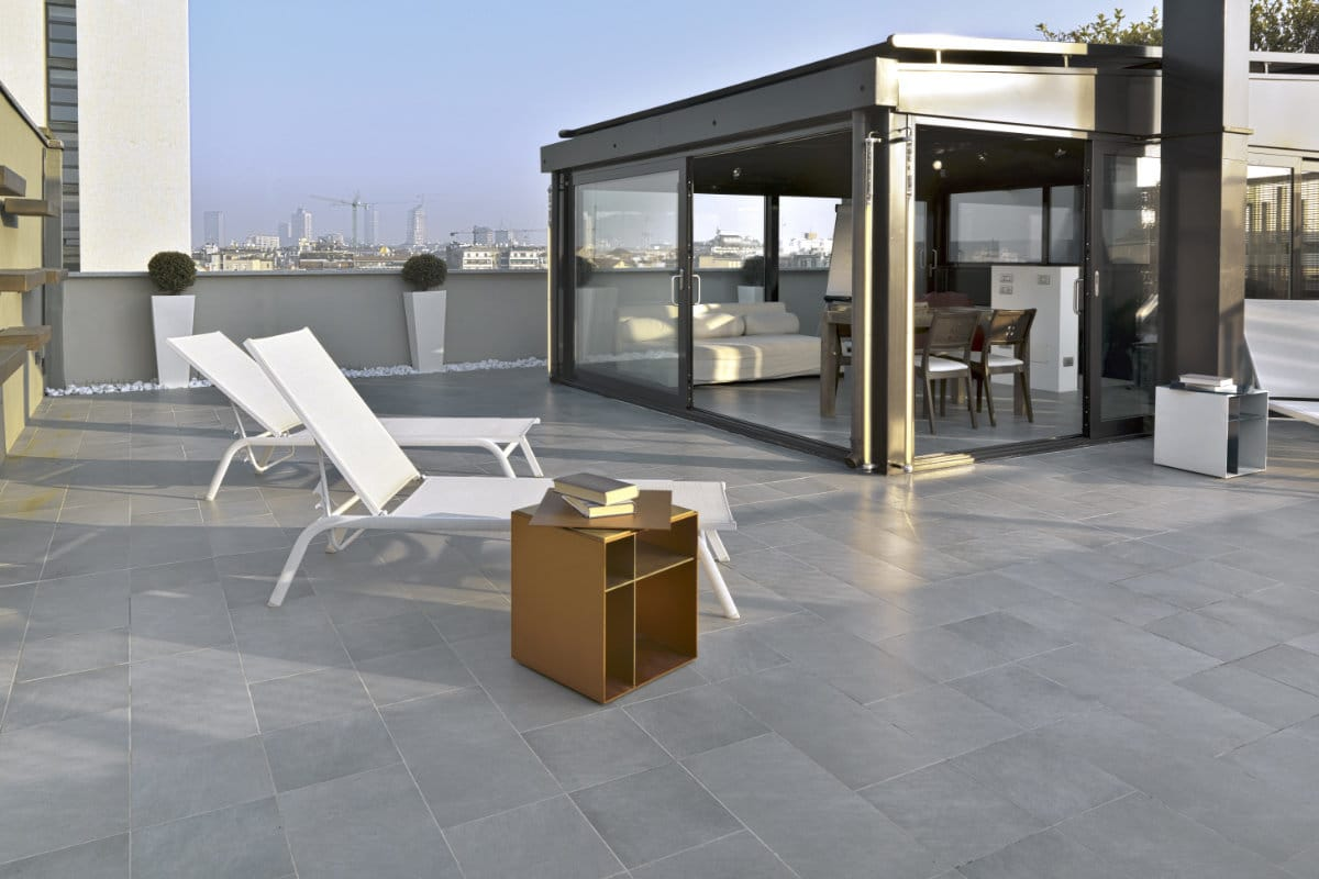 exemple terrasse pierre naturelle