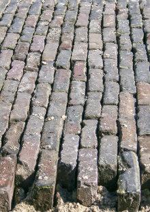 placer briques en terre cuite