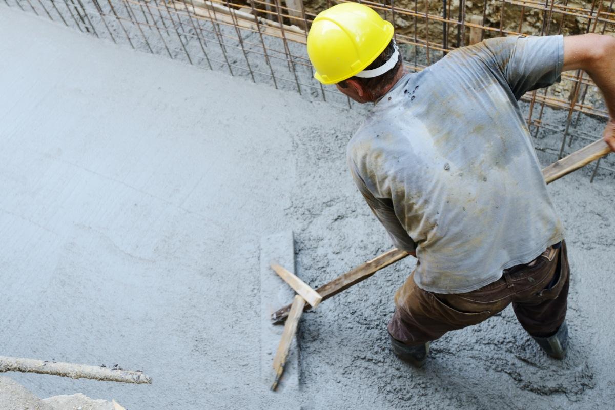 pose beton lisse