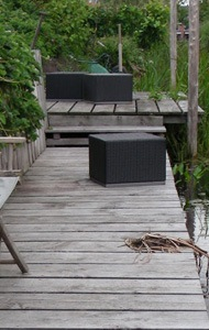 am nager une terrasse en bois prix types de bois. Black Bedroom Furniture Sets. Home Design Ideas