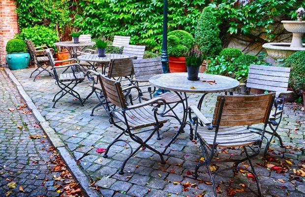 Terrasse en pavé | Exemples - motifs et prix par m2