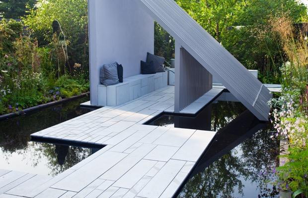 tuiles de terrasse modernes